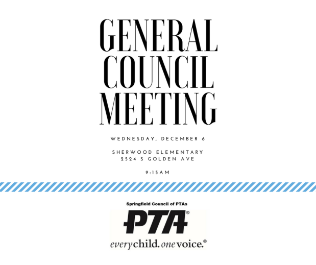 12-6 General Council Meeting